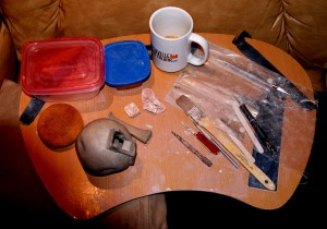 Portable Work Station for Clay
