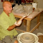 Roy Overcast - Teaching at Mid-South Ceramics