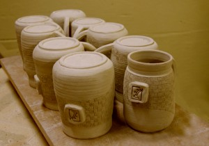 Mugs Drying