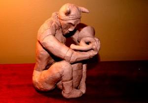 kiln god - Leif the Guardian of MugPhlutes & Horns