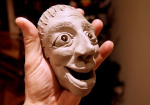 Stoneware Mini-Mask