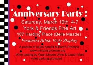 York & Friends Anniversary - Gallery Celebration